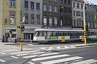 Intersection at Koningin Astridplein, Antwerp, Belgium