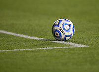 Wilson NCAA Ball. UCLA advanced on penalty kicks after defeating Virginia, 1-1, in regulation time at the NCAA Women's College Cup semifinals at WakeMed Soccer Park in Cary, NC.