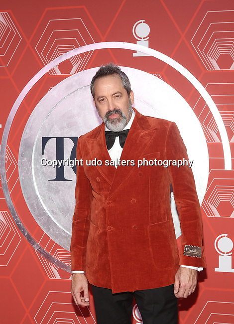 Ian Barford attends the 74th Tony Awards-Broadway's Back! arrivals at the Winter Garden Theatre in New York, NY, on September 26, 2021. (Photo by Udo Salters/Sipa USA)