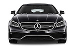 Car photography straight front view of a 2016 Mercedes Benz CLS-Shooting-Brake 63-AMG-S 5 Door Wagon Front View
