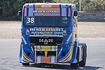 Portuguese driver Jose Eduardo Rodrigues belonging Portuguese team Jose Eduardo Rodrigues during the super pole SP1 of the XXX Spain GP Camion of the FIA European Truck Racing Championship 2016 in Madrid. October 01, 2016. (ALTERPHOTOS/Rodrigo Jimenez)