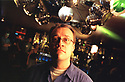 RUSSELL T DAVIES WRITER OF TV SERIES QUEER AS FOLK AND DR WHO PIC GERAINT LEWIS