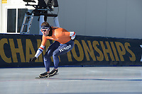 SPEED SKATING: COLLALBO: Arena Ritten, 11-01-2019, ISU European Speed Skating Championships, training, Sven Kramer (NED), ©photo Martin de Jong