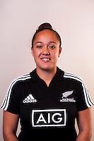 Arihiana Marino. New Zealand Black Ferns headshots at The Rugby Institute, Palmerston North, New Zealand on Thursday, 28 May 2015. Photo: Dave Lintott / lintottphoto.co.nz