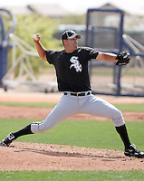 Anthony Carter, Chicago White Sox minor league spring training..Photo by:  Bill Mitchell/Four Seam Images.