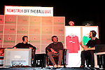 Brian O'Driscoll was at the the TLT Theatre, Drogheda, as part of the Newstalk Off The Ball event that took place on Wednesday night, in conjunction with Heineken.<br /> <br /> Heineken's exciting #RunWithIt campaign gives rugby fans the chance to win a trip to the European Rugby Champions Cup final. To get involved, visit www.heineken.ie.<br /> <br /> Picture www.newsfile.ie