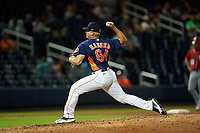 Houston Astros pitcher Austin Hansen (84) during a Major League Spring Training game against the Washington Nationals on March 19, 2021 at The Ballpark of the Palm Beaches in Palm Beach, Florida.  (Mike Janes/Four Seam Images)