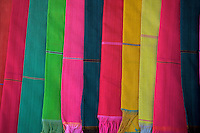 Battambang Cambodia, Colorful Khmer Scarfs