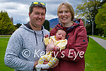 Enjoying a stroll in the Killarney National park on Sunday, Paul and Elaine Giltrap with their 3 week old daughter Elle Marie Giltrap,