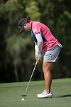 Players in action during the Day 3 of the Fubon LPGA Taiwan Championship on 1st November 2014 at the Miramar Golf Country Club outskirts of Taipei, Taiwan. Photo by Victor Fraile / Power Sport Images