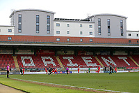 General view of the action during Leyton Orient vs Port Vale, Sky Bet EFL League 2 Football at The Breyer Group Stadium on 20th February 2021