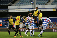 William Troost-Ekong of Watford heads the ball clear during Queens Park Rangers vs Watford, Sky Bet EFL Championship Football at The Kiyan Prince Foundation Stadium on 21st November 2020