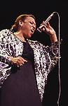 Lorez Alexandria, Apr 1991 : Lorez Alexandria performing in Tokyo. Japan