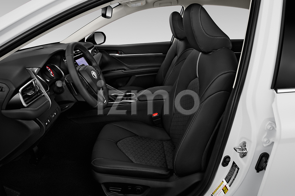 Front seat view of 2020 Toyota Camry XSE 4 Door Sedan Front Seat  car photos