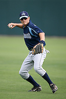 April 12, 2009:  Shortstop Shawn O'Malley of the Charlotte Stone Crabs, Florida State League Class-A affiliate of the Tampa Bay Rays, during a game at Hammond Stadium in Fort Myers, FL.  Photo by:  Mike Janes/Four Seam Images