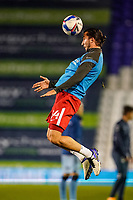 20th November 2020; St Andrews Stadium, Coventry, West Midlands, England; English Football League Championship Football, Coventry City v Birmingham City; Ivan Sunjic of Birmingham City warms-up prior to the match