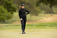 STANFORD, CA - APRIL 25: Rachel Heck at Stanford Golf Course on April 25, 2021 in Stanford, California.