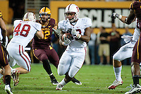 TEMPE, AZ - November 13, 2010: Stepfan Taylor during a football game at Arizona State University in Tempe, Arizona. Stanford won 17-13.