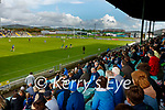 Crowds back in the stand during the County Senior hurling Final between Kilmoyley and Saint Brendan's at Austin Stack park on Sunday.
