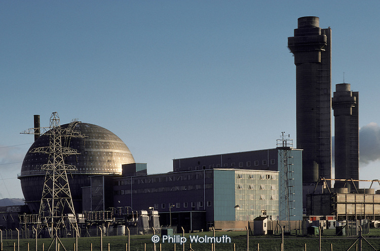 Sellafield nuclear reprocessing plant, Cumbria.