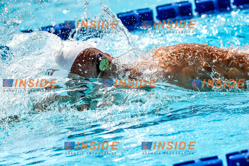 Jakob Heidtmann of Germany competes in the men 400m freestyle during the 58th Sette Colli Trophy International Swimming Championships at Foro Italico in Rome, June 25th, 2021. Jakob Heidtmann placed 5th in his heat.