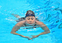 July 28, 2012: ELIZABETH BEISEL of USA exits the pool after second place finish in women's 400 Individual Medley at the Aquatics Center on day one of 2012 Olympic Games in London, United Kingdom.