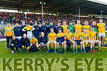 The Meath Team before the Allianz Football League Division 1 Round 4 match between Kerry and Meath at Fitzgerald Stadium in Killarney, on Sunday.