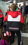 Sochi 2014.<br /> Team Canada arrives at the airport in Sochi for the Sochi 2014 Paralympic Winter // Équipe Canada arrive à l'aéroport de Sotchi pour Sochi 2014 Jeux paralympiques d'hiver. 05/03/2014.