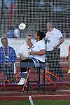 IPC European Athletics Championship 2014<br /> Swansea University<br /> Solmaz Safarova (AZE)<br /> 19.08.14<br /> ©Steve Pope-SPORTINGWALES