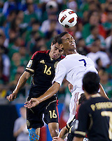 Mexico vs Cuba in the first round of the Concacaf Gold Cup