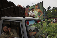 Billboards about Jewelry in and around Cochin...Cochin is the commercial capital of the state of Kerala.  ..Most images are shot in twin town of Ernakulam which is across the small ocean area to the island of Cochin..