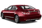 Car pictures of rear three quarter view of 2017 Lexus LS 460-Sport 4 Door Sedan Angular Rear