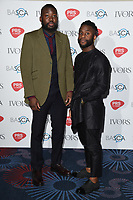 Young Fathers<br /> at The Ivor Novello Awards 2017, Grosvenor House Hotel, London. <br /> <br /> <br /> ©Ash Knotek  D3267  18/05/2017