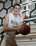 Medina's Tyler Peters follows in his fathers and uncles footsteps and is the 2009-10 Gazette boys basketball MVP. (RON SCHWANE / GAZETTE)
