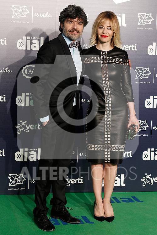 Spanish actors Nacho Guerreros (l) and Maria Adanez during the Cadena Dial Awards 2014. March 7, 2014. (ALTERPHOTOS/Acero)