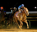 Duke of Mischief, jockey Joe Bravo up, wins the Grade 3 $1,000,000 Charles Town Classic at Charles Town Races and Slots in Charles Town, West Virginia on April 17, 2011