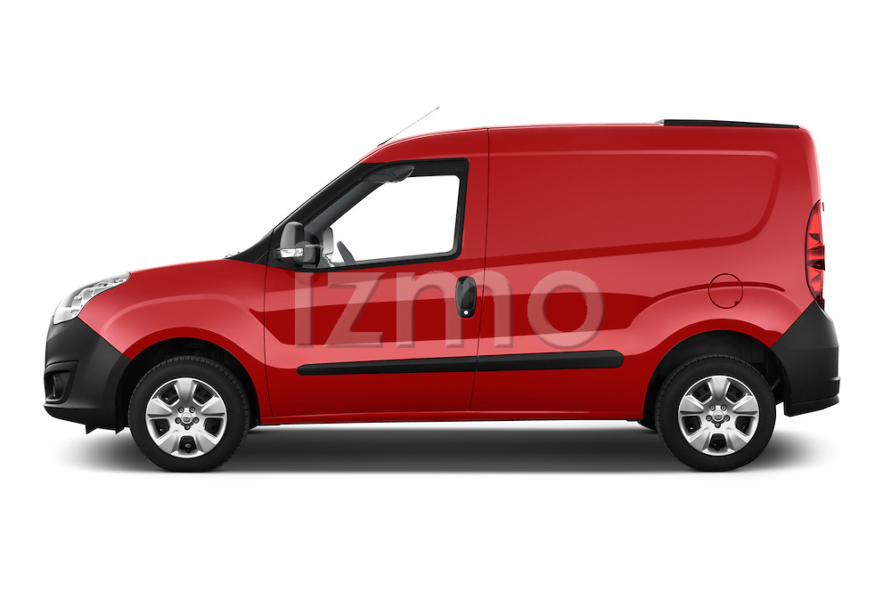 Car Driver side profile view of a 2015 Opel COMBO LiHI 4 Door Cargo Van 2WD Side View