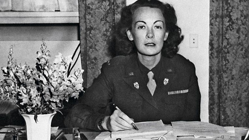 Katherine MacCarthy-Morrogh, the girl from Inishbeg. Better known as Kay Summersby, as General Eisenhower's driver and secretary in World War II she would have seen the effectiveness of his high regard for constant planning rather than adhering to a rigid plan