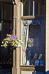bookstore window, Port Townsend, Water Street, William James bookstore,  Washington State, Port Townsend Historic District,