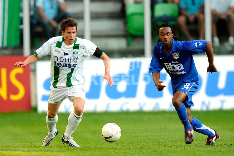 voetbal fc groningen nec play off eredivisie seizoen 2007-2008 11-05-2008  fledderus..fotograaf Jan Kanning.. ..