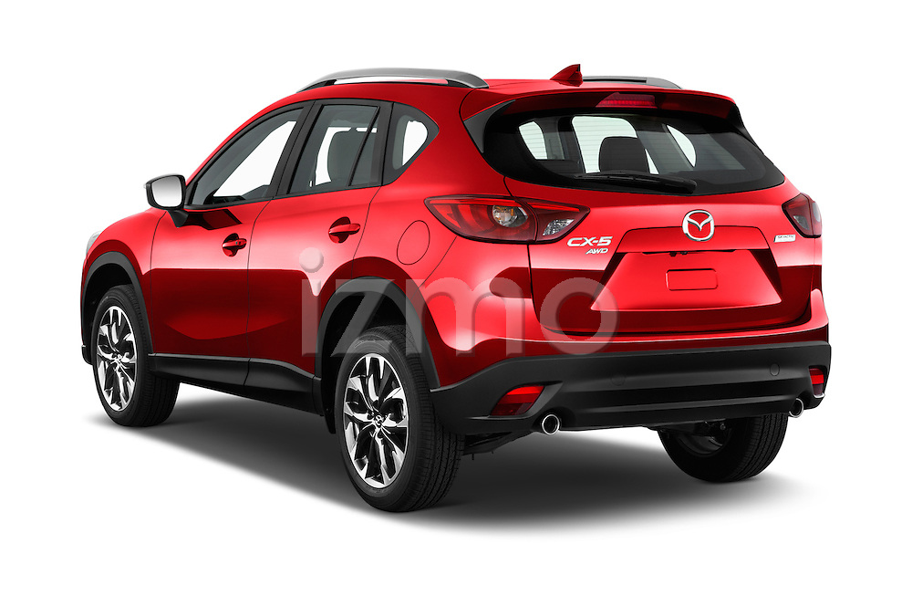 Car pictures of rear three quarter view of 2016 Mazda CX-5 Grand-Touring-auto 5 Door SUV Angular Rear