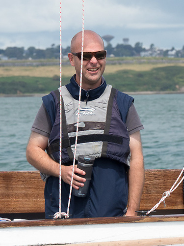 Darragh Connolly, Rear Admiral (Keelboats) of the Royal Cork Yacht Club