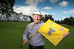 Two time GB&I Ryder cup Player Tommy Horton visted Blairgowrie Golf Club today as ambassador for the Junior Ryder Cup which is to be played over the Lansdowne Course next year<br /> Pic Kenny Smith, Kenny Smith Photography<br /> 6 Bluebell Grove, Kelty, Fife, KY4 0GX <br /> Tel 07809 450119,