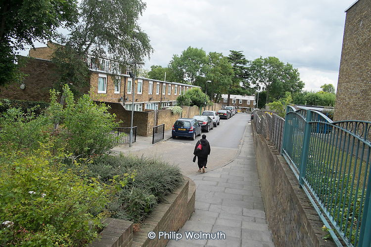 Cressingham Gardens Estate, London, where the majority of tenants oppose plans by Lambeth Council to demolish and rebuild.