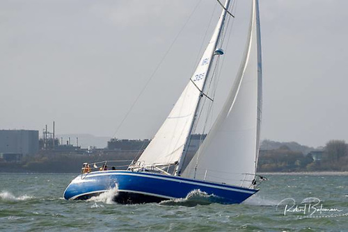 Noel Coleman's Blue Oyster is registered for August's Fastnet Race Photo: Bob Bateman