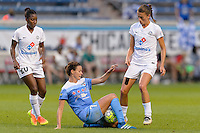 Chicago, IL - Saturday July 30, 2016: Taylor Comeau during a regular season National Women's Soccer League (NWSL) match between the Chicago Red Stars and FC Kansas City at Toyota Park.