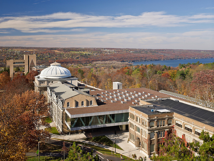 Milstein Hall at Cornell University | Architects: OMA Client: Architectural Record