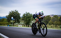 Grace Brown (AUS/Mitchelton Scott)<br /> <br /> Women Elite Time trial from Imola to Imola (31.7km)<br /> <br /> 87th UCI Road World Championships 2020 - ITT (WC)<br /> <br /> ©kramon