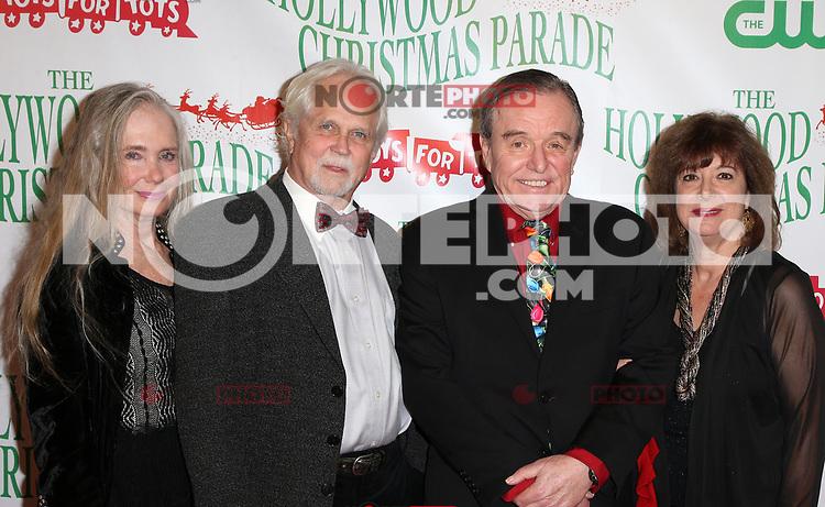 HOLLYWOOD, CA - NOVEMBER 26: Tony Dow, Jerry Mathers, at 86th Annual Hollywood Christmas Parade at Hollywood Blvd in Hollywood, California on November 26, 2017. Credit: Faye Sadou/MediaPunch /NortePhoto NORTEPHOTOMEXICO