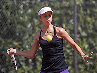 Hilversum, Netherlands, August 10, 2016, National Junior Championships, NJK, Solange Beliën (NED)<br /> Photo: Tennisimages/Henk Koster